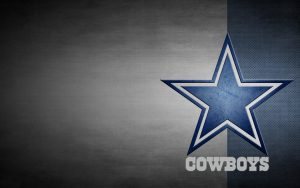 Dallas Cowboys Free Wallpaper Download with Logo