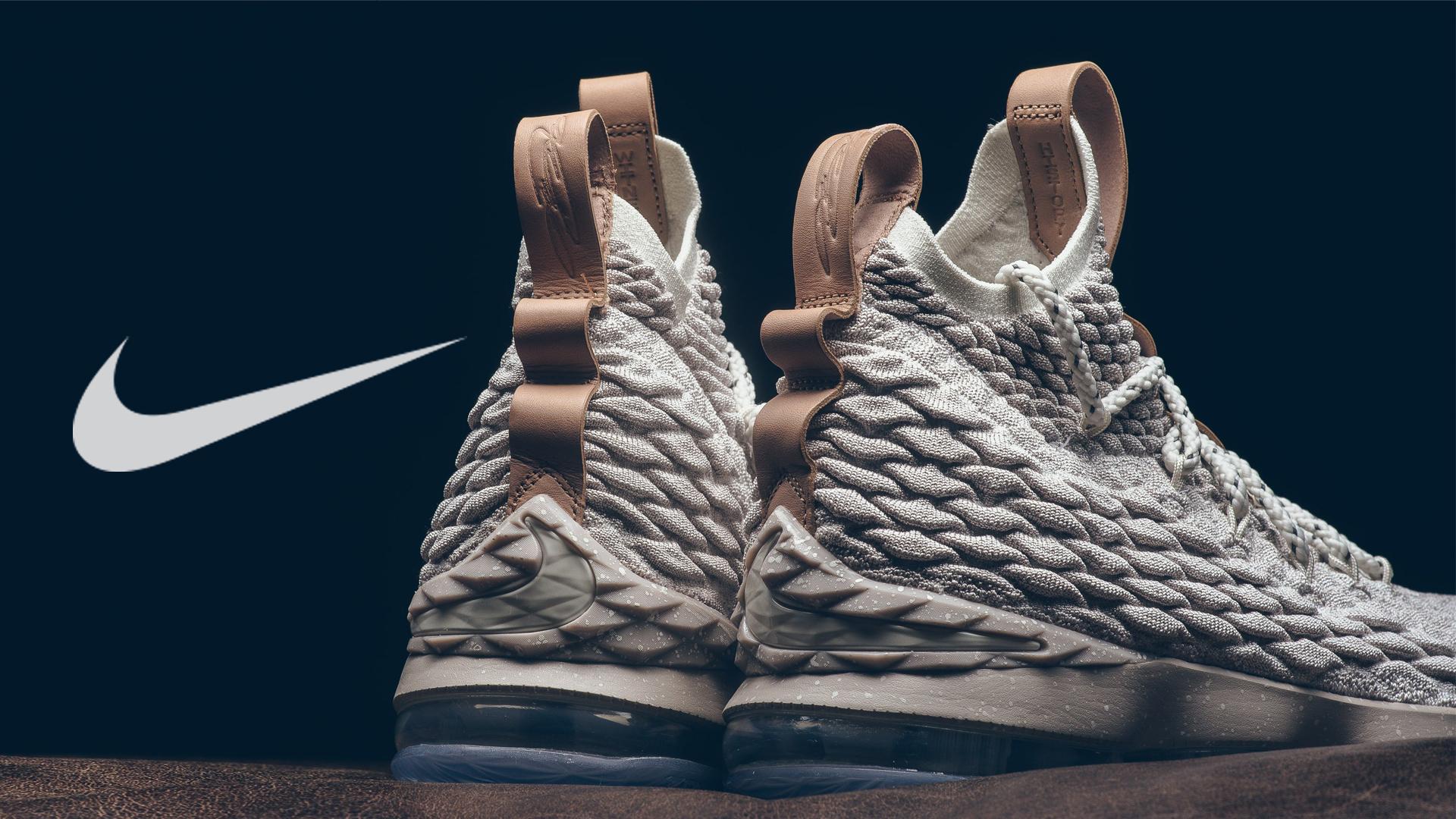 Nike Basketball Hd Wallpaper Lebron James Shoes Wallpaper With Nike Lebron 15 Rear View