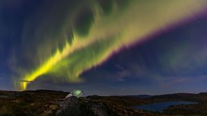 Natural Images HD 1080p Download with Aurora Borealis over Central Norway