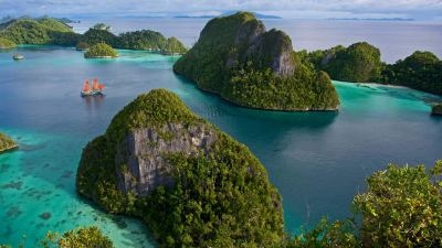 Natural Images HD 1080p Download with Wayag Island in Raja ...