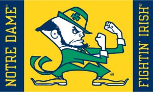 Notre Dame Fighting Irish Logo Wallpaper