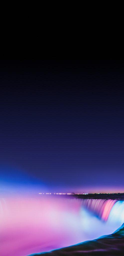 Niagara Falls At Night Wallpaper Hd Picture Of Niagara Falls Light Show At Night For Samsung
