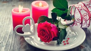 Top 25 Pictures Of Red Roses - #20 - with Candle