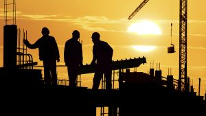 Civil Engineering Desktop Wallpaper in HD 1080p – 06 of 10 – Construction Workers Silhouette