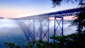 Civil Engineering Desktop Wallpaper in HD 1080p - 02 of 10 - New River Gorge Bridge