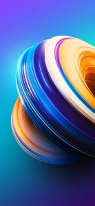 Huawei P Smart+ or nova 3i Wallpaper with Abstract Colorful Background