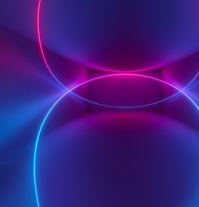 Original Wallpaper for Huawei Mate 20, Mate 20 X and Mate 20 Pro - Neon