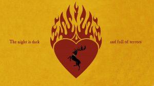 Game of Thrones Wallpaper 06 of 20 - House Baratheon of Dragonstone