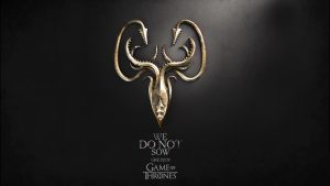 Game of Thrones Wallpaper 09 of 20 - House Greyjoy - We Do Not Sow