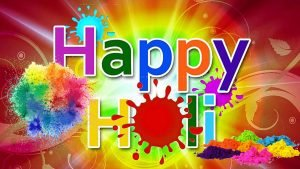 Holi Color Powder Wallpaper for Party Background