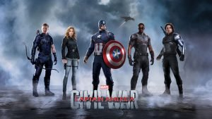 Captain America Civil War Wallpaper 4K