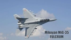 Fighter Jet Wallpaper with Mikoyan MiG-35 Fulcrum