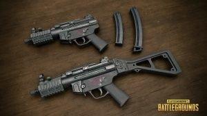 PUBG Wallpaper Full HD - Playerunknown's Battlegrounds MP5K Submachine Gun