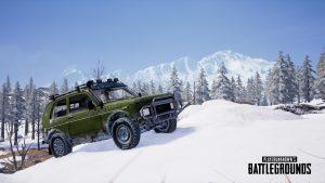 PUBG Wallpaper Full HD - Playerunknown's Battlegrounds Special Vehicle - Zima