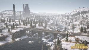 PUBG Wallpaper Full HD - Playerunknown's Battlegrounds Vikendi Map
