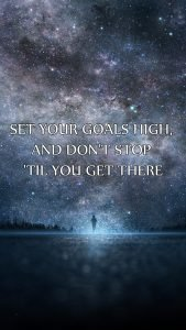 Motivational Wallpapers for Mobile Phones with Picture of Galaxy