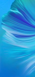 Abstract Blue Wallpaper for Mobile Phones with Betta Fishtail