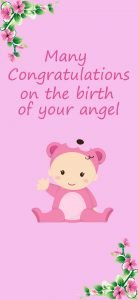 Congratulations Images Free Download for New Baby Girl Birth