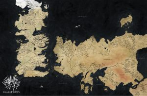 Game of Thrones Wallpaper 14 of 20 – Map of The World