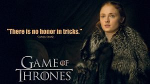 Game of Thrones Wallpaper 20 of 20 – HD Picture of Sansa Stark with Quotes