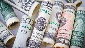 Money Pictures Free Download with Rolled US Dollar Bills