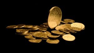 Money Wallpaper 25 of 27 – Pictures of Money with Gold Coins
