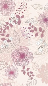 Apple iPhone SE Wallpaper 06 0f 50 - Floral Pattern for Girl