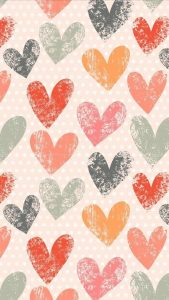 Apple iPhone SE Wallpaper 07 0f 50 - Love Signs Patterns