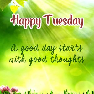 20 Most Favorite Tuesday Motivation Images and Tuesday Thoughts 02 - A good day starts