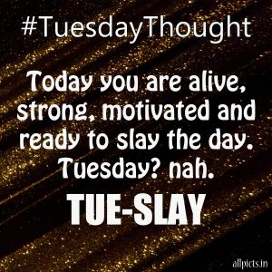 20 Most Favorite Tuesday Motivation Images and Tuesday Thoughts 05 - Today you are alive