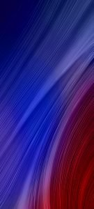 Cool Phone Wallpapers for Xiaomi Redmi Note 9 Pro 5G – 08 Red Blue Abstract Lights