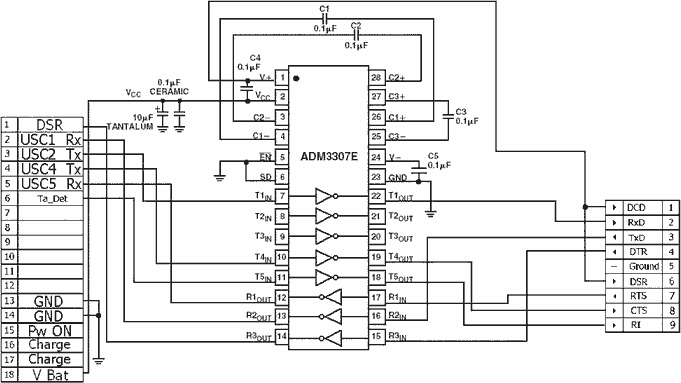 LG original ( LG DK-15G) data- · AllPinouts