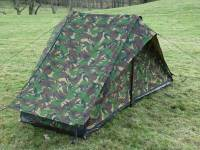 Dutch Army Canvas Tent - NEW - Woodland Camouflage One Man ...