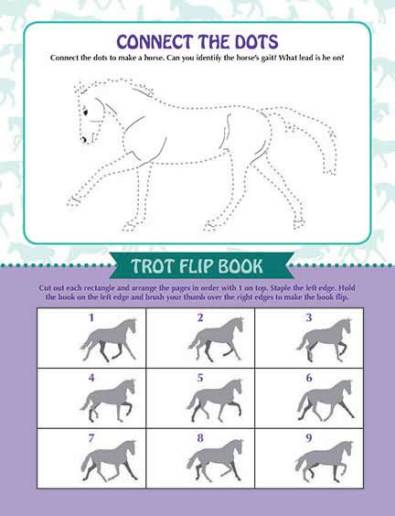 Allpony Activity Book Sample Page