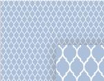 blue garden gate pattern background