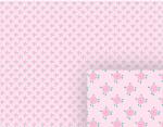 little pink flowers background pattern