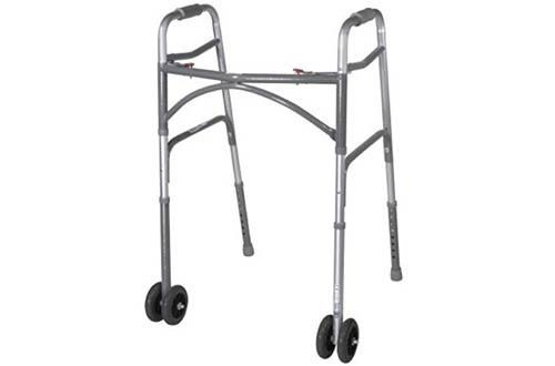 Top 10 Best Folding Walkers with Wheels for Seniors