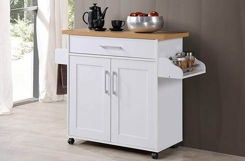 Top 10 Best Movable Kitchen Island Carts On Wheels Reviews In 2020