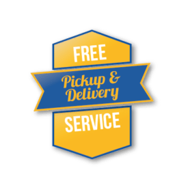 free pick up and delivery service