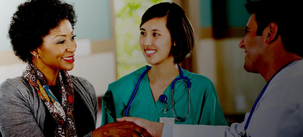 Healthcare Influencer Program - healthcare professionals shaking hands