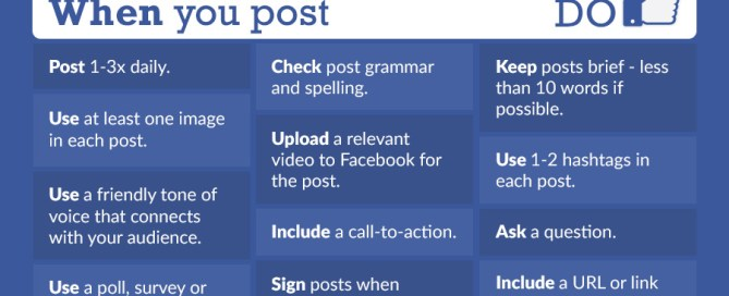 Facebook Do's and Don'ts Infographic - Pryme Group