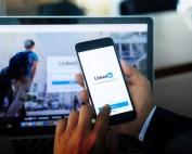 LinkedIn phone & computer