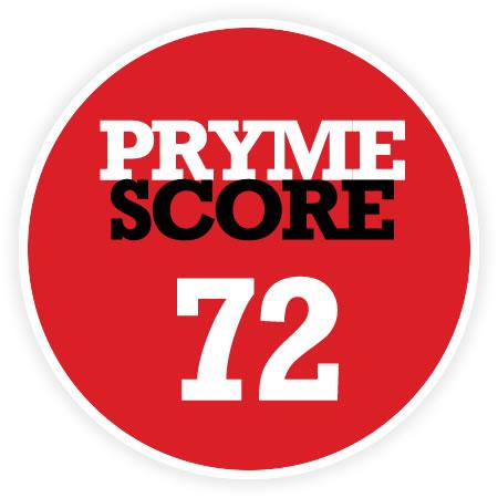 Pryme Score 72