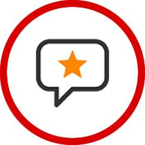 Social Media Reputation Icon
