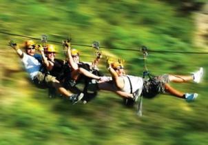 Canopy zipline, Tarzan swing and Superman fly in Punta Cana (4)