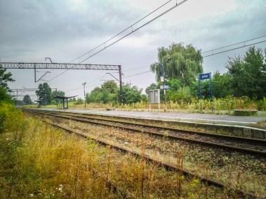 tory prowadzące w kierunku Krakowa....