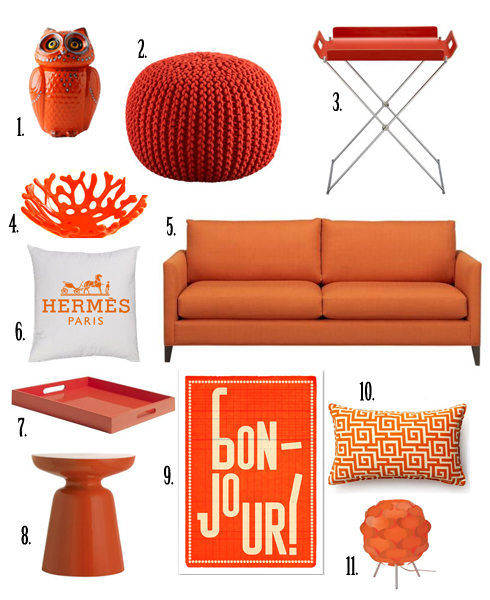 Pantone Color Of The Year – Tangerine Tango All Put Together