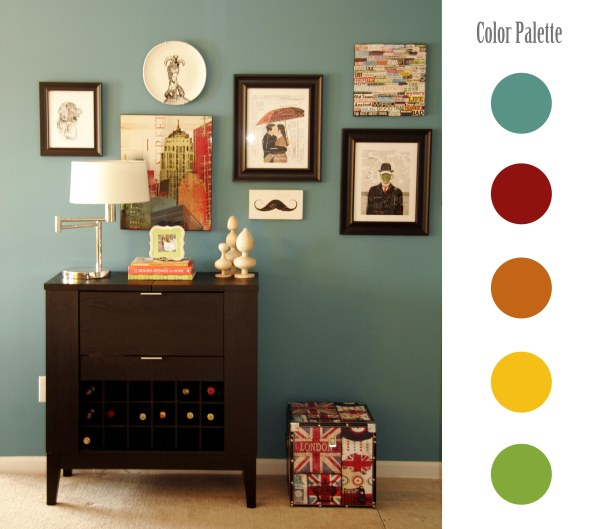 Interior Wall Color Palette
