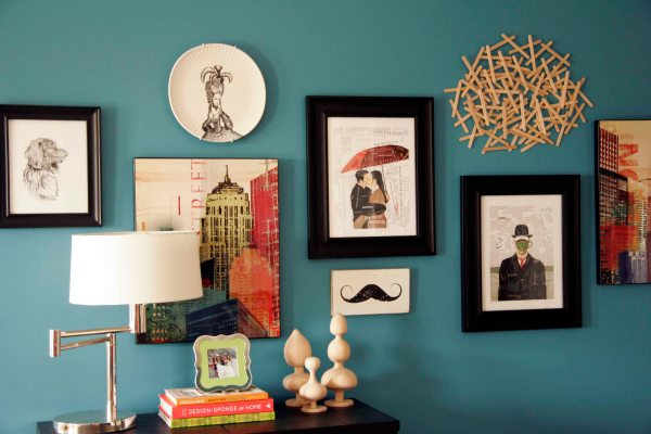 Creating Wall Affordable Art Put