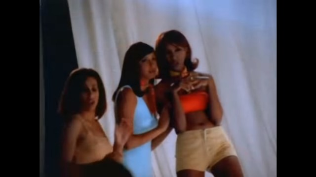 Kim Kardashian in Tupac video All About U